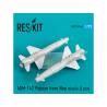 ResKit kit RS72-0146 AGM-142 Popeye Have Nap missile (2 pcs) pour F-4, F-15, F-16 et F-111 1/72