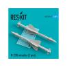 ResKit kit RS72-0161 R-23R missile (2 pcs) pour Mig-23 1/72
