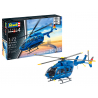 Revell maquette helicoptere 63877 Model Set EC 145 Builders' Choice Inclus colle peinture et pinceau 1/72