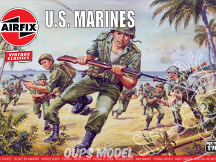 Airfix maquette militaire 00716V WWII US Marines 1/72