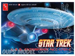 AMT maquette Espace 0721 Star Trek USS Enterprise NCC-1701C 1/1400