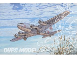 Roden maquette avion 339 Boeing 307 Stratoliner (TWA SA-307B) 1/144