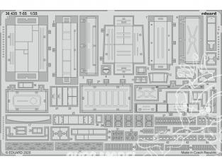 Eduard photodecoupe militaire 36435 Amélioration T-55 Mini Art 1/35