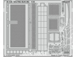 Eduard photodecoupe militaire 36436 Amélioration 9A37M2 BUK-M2 Panda Hobby 1/35