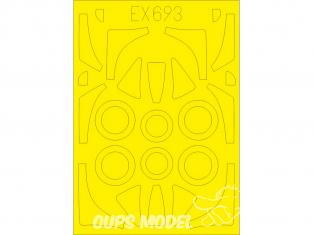 Eduard Express Mask EX693 FJ-2 Fury TFace Kitty Hawk 1/48