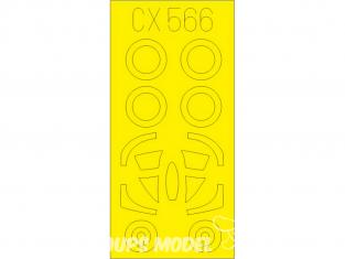 Eduard Express Mask CX566 A-4F Hobby Boss 1/72