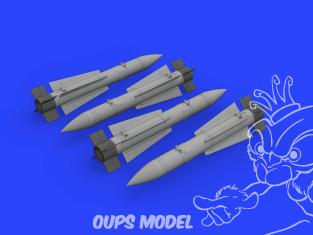 Eduard kit d'amelioration brassin 632147 Armement AIM-54A Phoenix 1/32