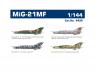 EDUARD maquette avion 4435 MiG-21MF Super44 1/144