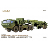 Modelcollect maquette militaire 72166 USA M983 Hemtt Tractor With Pershing II Missile Erector Launcher new Verersion 1/72