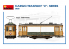 "MINI ART maquette militaire 38030 CARGO TRAMWAY ""X"" SERIES 1/35"
