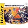 Heller maquette militaire 49655 Personnel de Luftwaffe 1/72