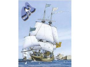 Heller maquette bateau 80837 Le saint louis 1/200