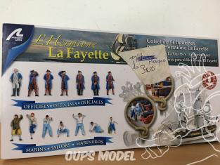 Artesania Bois 22517-F BOITE INCOMPLETE Figurines Hermione La Fayette 1/89