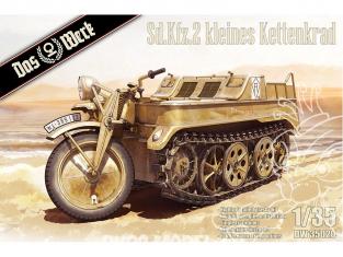 DAS WERK maquette militaire DW35020 Kleines Kettenkraftrad Sd.Kfz.2 1/35