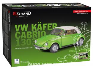 Le Grand maquette voiture LE101 VW V Käfer Cabrio 1303 vert vipère métallisé 1/8