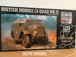 Mirror Models maquette militaire 35402 Boite incompléte British Morris C8 Quad Mk II early 1/35