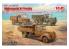 Icm maquette militaire DS3507 Wehrmacht 3t camions V3000S, KHD S3000 et L3000S 1/35