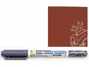 Mr Hobby GM407 Ensemble GUNDAM MARKER REAL TOUCH Stylo Pour Sumire (Brown) Weathering