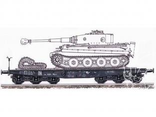 Planet Maquettes Militaire mv048 Vagon type SSymS 80ton full resine kit 1/72
