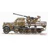 Planet Maquettes Militaire mv019 SdKfz 7/2 avec Flak 37 full resine kit 1/72