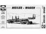 Planet Maquettes Militaire mv013 Transporteur de missiles Meillerwagen V2 (A-4) full resine kit 1/72