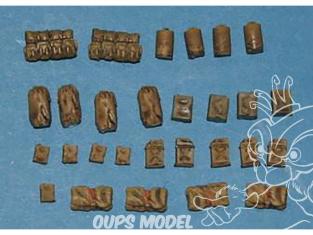 CMK Maquettes molitaire mv058 Ensemble d'équipement américain WWII 1/72
