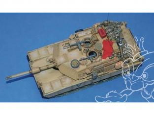 CMK Maquettes molitaire mv064 M1A1 Abrams guerre en Irak ensemble d'équipement 1/72