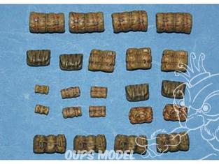 CMK Maquettes molitaire mv061 Pack tente partie I 1/72