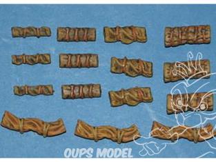 CMK Maquettes molitaire mv062 Pack tente partie II 1/72