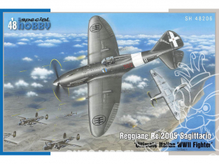 Special Hobby maquette avion 48206 Reggiane Re.2005 Sagittario Ultimate Italian WWII Fighter 1/48