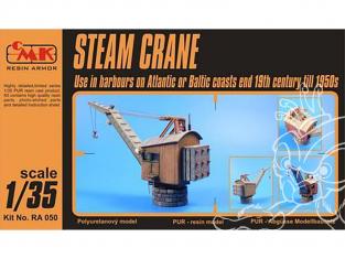 CMK kit resine RA050 Grue à vapeur Résine en kit fin 19e a 1950 1/35