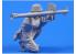 CMK figurine f35213 Chasseur de chars de la Wermacht position de tir 1 figurines 1/35