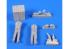 CMK figurine f35206 Equipage de Schnellboot avec provisions 2 figurines 1/35