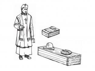 CMK figurine f35203 Aumônier militaire avec cercueil et chapelet 1 figurines 1/35