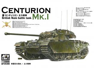 AFV maquette militaire AF35308 Char pricipal britanique Centurion MK.1 1/35