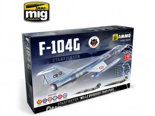 Ammo Mig maquette avion 8504 F-104G Starfighter Edition Limitée 1/48