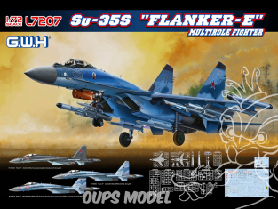 "Great Wall Hobby maquette avion L7207 Sukhoi Su-35S ""Flanker E"" Chasseur multi missions 1/72"