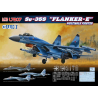 """Great Wall Hobby maquette avion L7207 Sukhoi Su-35S """"Flanker E"""" Chasseur multi missions 1/72"""
