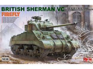 Rye Field Model maquette militaire 5038 British Sherman VC Firefly 1/35