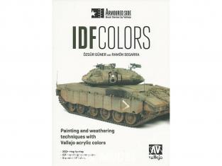 Vallejo Librairie 75017 IDF Colors de Ozgur Guner et Ramon Segarra en langue Anglaise