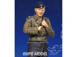 Alpine figurine 35173 WSS Panzer NCO 1/35