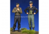 Alpine figurine 35274 Set ensemble WSS Équipage Panzer (2 figurines) 1/35