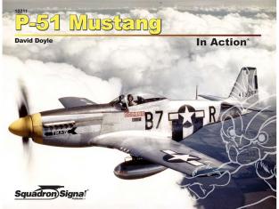 Librairie Squadron 10211 P-51 Mustang en action
