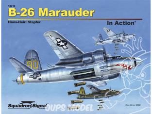 Librairie Squadron 10210 B-26 Marauder en action