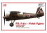 IBG maquette avion 32003L Avion Polonais PZL P.11c Edition Limitée 1/32