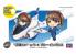 Hasegawa maquette avion 52244 Egg Girls déformées No.01 «Rei Hazumi» avec T-4 Blue Impulse EGG PLANE