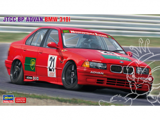 Hasegawa maquette voiture 20430 JTCC BP Advan BMW 318i 1/24