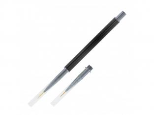 ModelCraft PPB1079 pinceau à détails super fins avec 2 pointes (7 mm et 9 mm)
