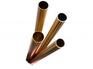 K&S 3401 Tube rond de laiton 7/16, 15/32, 1/2, 17/32 4piéces