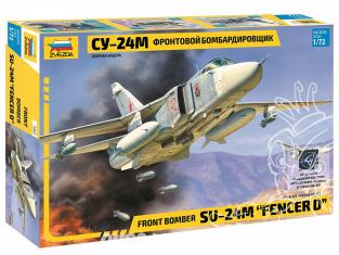 Zvezda maquette avion 7267 Bombardier Su-24M 1/72